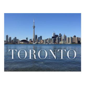 Toronto-Stadtbild Postkarte