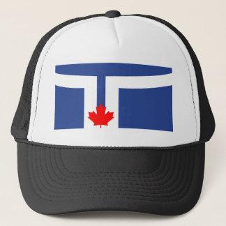 Toronto-Stadtflaggen-Kanada-Symbol Truckerkappe