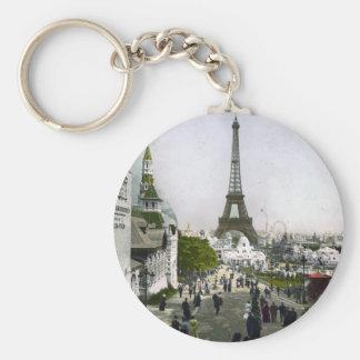 Torre Eiffel Universelle Ausstellung von Paris Schlüsselanhänger