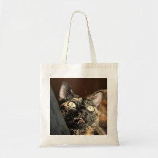 tortoiseshell cat bag budget stoffbeutel