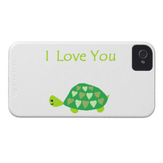 Tortue d'amour coque iPhone 4 Case-Mate