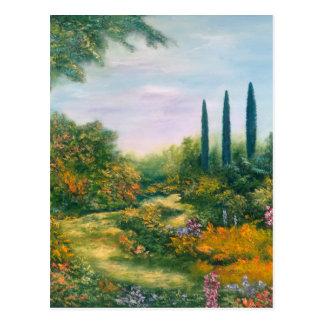 Toskana-Atmosphäre 1996 Postkarte