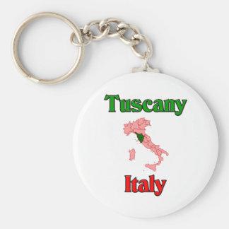 Toskana Italien Standard Runder Schlüsselanhänger