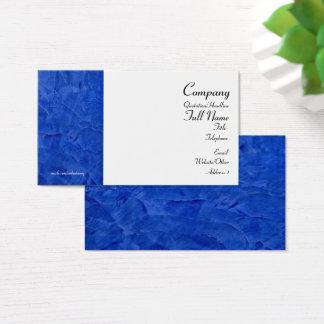 Toskanische blaue Visitenkarten 2,0