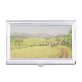 Toskanisches Bauernhaus, Visitenkarten-Behälter