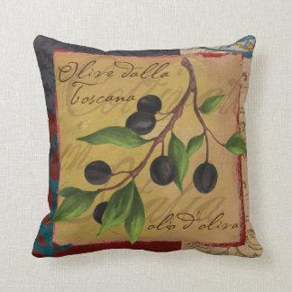 Toskanisches Oliven-Kissen Kissen