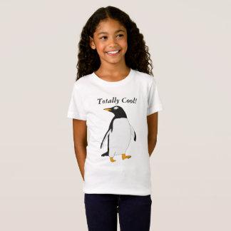 Total cooler, Schwarzweiss-Penguin T-Shirt