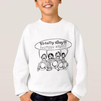 Total homosexuelles Friseursalon-Quartett Sweatshirt