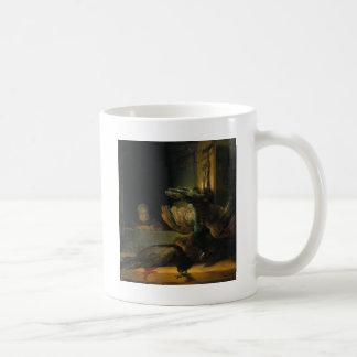 Tote Pfaus durch Rembrandt Kaffeetasse