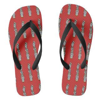 Totem-Eulen Flip Flops