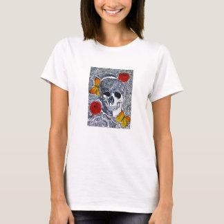 Totenkopf Stil T-Shirt