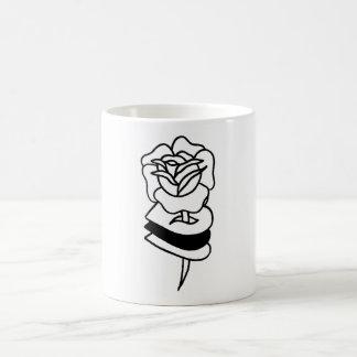 Toter //-Rosen-Becher Kaffeetasse