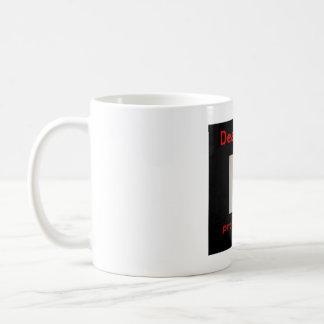 toter Typ Kaffeetasse