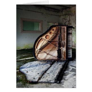 Totes Klavier Karte