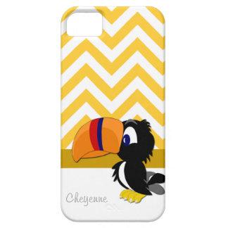 Toucan gelbes Zickzack iPhone 5 kaum dort iPhone 5 Case