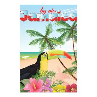 Toucan Strandplakat Jamaikas Briefpapier