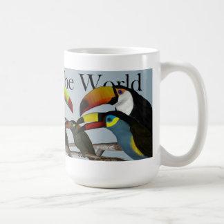 Toucans der Welt Kaffeetasse