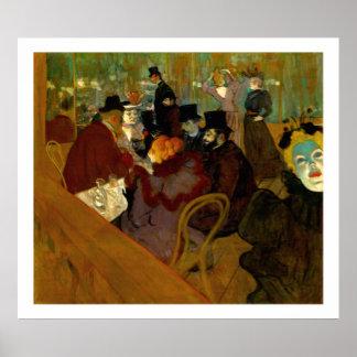 Toulouse-Lautrec: Beim Moulin Rouge Plakatdrucke