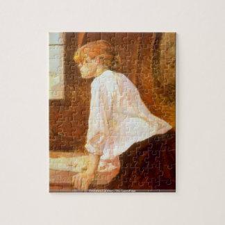 Toulouse-Lautrec - das Laundreßpuzzlespiel