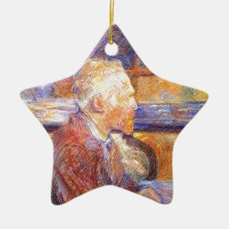 Toulouse-Lautrec - Van Gogh Keramik Ornament