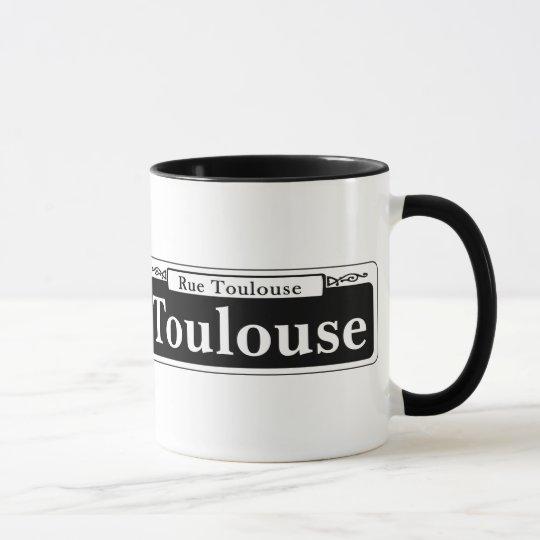 Toulouse-St., New- OrleansStraßenschild Tasse