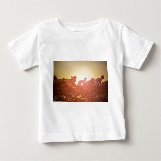 Tour de France-Sonnenuntergang Baby T-shirt