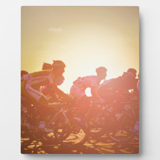 Tour de France-Sonnenuntergang Fotoplatten