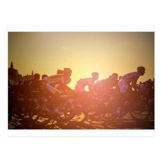 Tour de France-Sonnenuntergang Postkarten