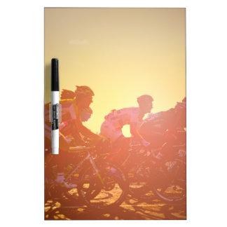 Tour de France-Sonnenuntergang Trockenlöschtafel