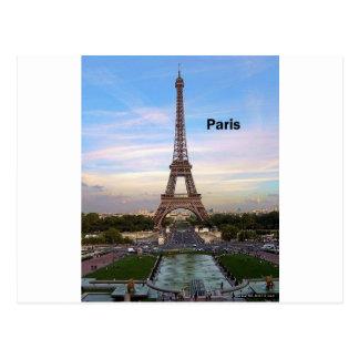 Tour Eiffel de la France Paris (par St.K) Carte Postale