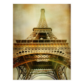 Tour Eiffel, Paris Carte Postale