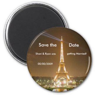 Tour Eiffel sauvent l aimant de date