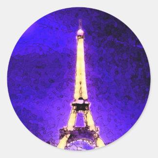 Tour Eiffel Sticker Rond