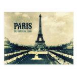 Tour Eiffel vintage, Paris, 1889 Cartes Postales