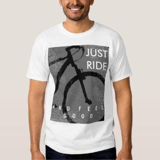 tour et sensation faisants du vélo bons tee shirts