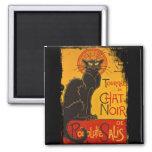 Tournee du Chat Noir Magnet Carré