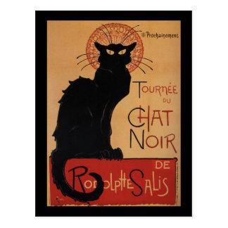 Tournée du Chat Noir, Théophile Steinlen Postkarte