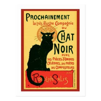 Tournée du Chat Noir, Theophile Steinlen Postkarte