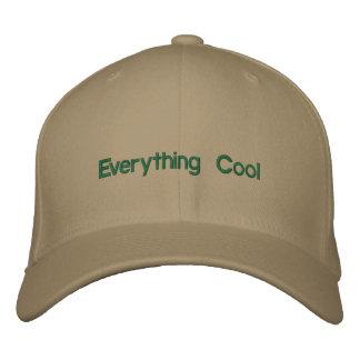 tout chapeau frais casquettes brodées