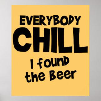 Tout le monde affiche froide 24 95 de bière