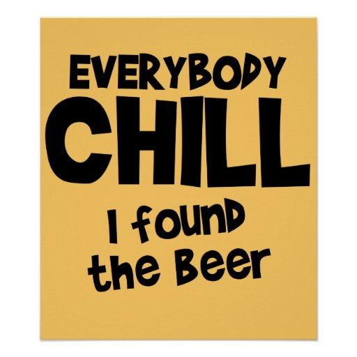 Tout le monde affiche froide $24,95 de bière