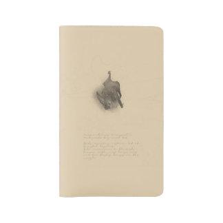Townsends Groß-ohriges Schläger-Notizbuch Großes Moleskine Notizbuch