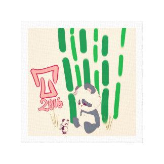 Toy panda toile