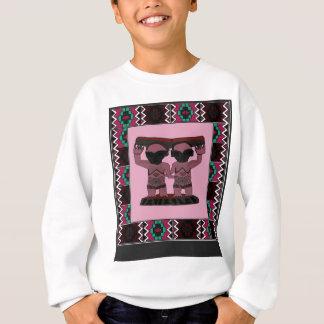Traditionelle afrikanische Kunstentwürfe Sweatshirt