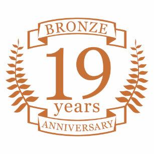 19 Jahrestag Wohndekoration Haustierzubehör Zazzlech