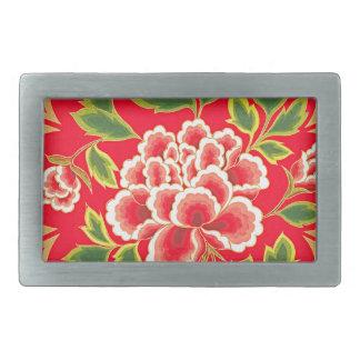 Traditioneller Chinese-Stickerei-Entwurf Rechteckige Gürtelschnalle