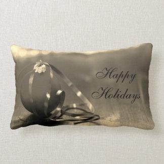 Traditioneller frohe Feiertage Entwurf Kissen