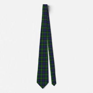 Traditioneller Gordontartan-karierte Hals-Krawatte Individuelle Krawatte