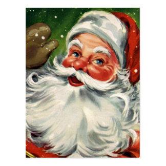 """""""Traditionelles Weihnachten Sankt """" Postkarte"""