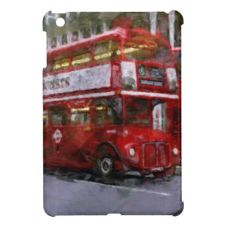Trafalgar-Platz-roter doppelstöckiger Bus, London, iPad Mini Hülle